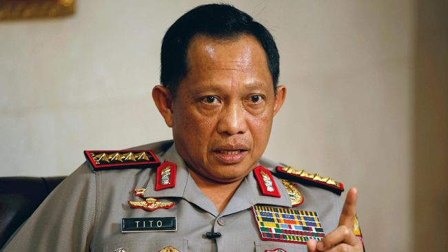 Kapolri: Teroris Tangerang Berkaitan dengan Pelaku Bom Bali