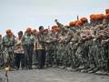 Safari ke Paskhas, Jokowi Minta Prajurit Waspadai Adu Domba