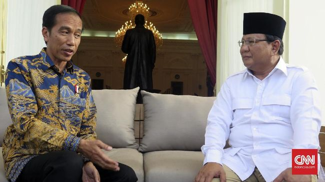 Gerindra Anggap Mustahil Duet Jokowi-Prabowo di Pilpres 2019