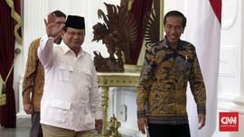 Survei Terbaru: Rival Terkuat Jokowi Masih Prabowo
