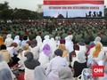 Saat Kapolri dan Panglima TNI Berada di Lautan Istigasah