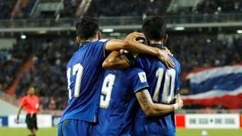 Gelandang Thailand Target Menang di Stadion Pakansari