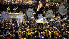Unjuk Rasa 'Gerakan Bersih' di Kuala Lumpur Berakhir Damai