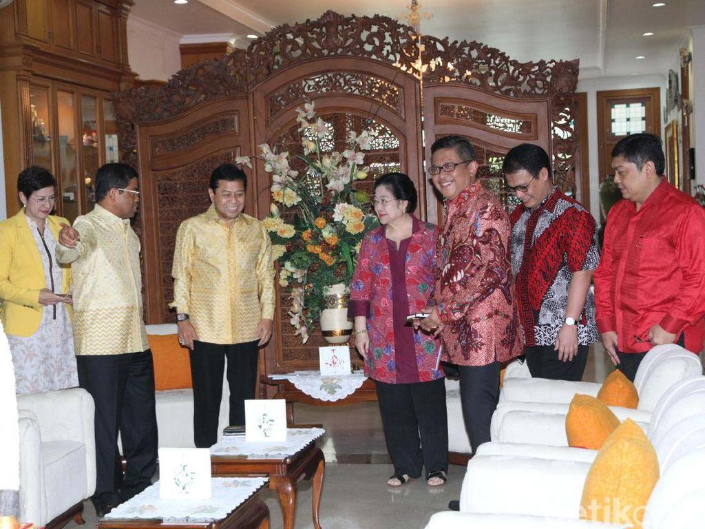 Pertemuan itu membahas dinamika politik nasional serta dukungan kedua partai terhadap Calon Gubernur DKI Jakarta Basuki Tjahaja Purnama.