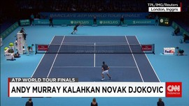 Andy Murray Juara Final ATP World