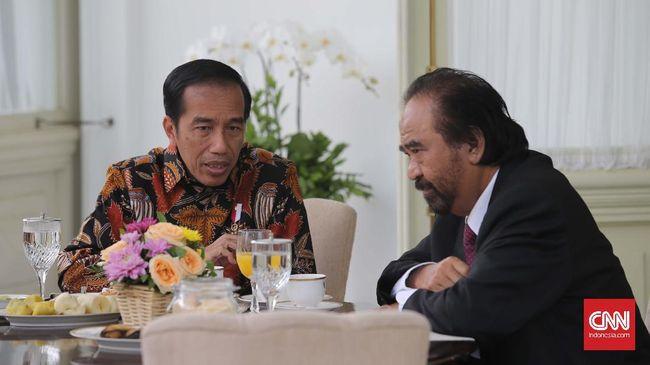 Paloh Sebut NasDem Bersyukur Koalisi Pemerintahan Jokowi