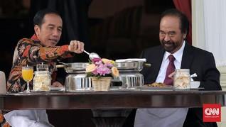 'Kecepatan' Partai Nasdem Bikin Jokowi Geleng-Geleng Kepala