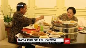 Gaya Diplomasi Jokowi