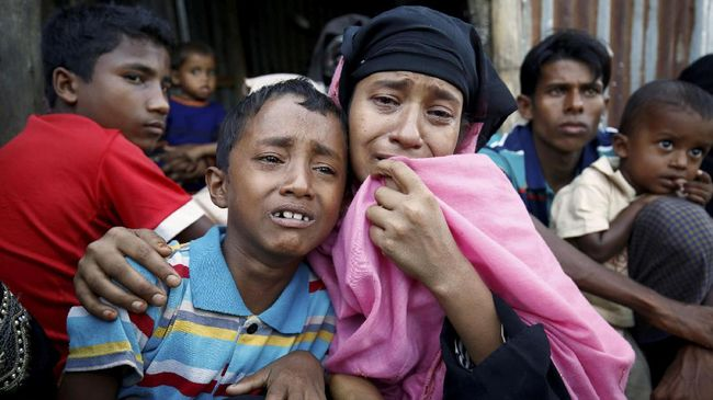Rohingya Demo Tolak Pemulangan Tanpa Jaminan Keamanan
