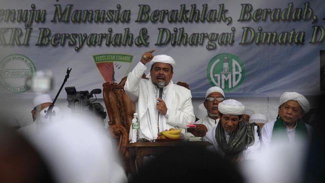Rizieq Shihab Serukan Jihad Lawan Virus Corona
