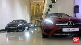 Mercedes-Benz Gelar Pameran Tunggal Perdana dan Terbesar
