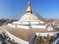 Stupa Boudhanath di Nepal Selesai Diperbaiki