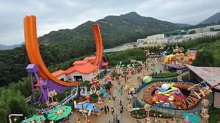 Pemandangan Kosong di Disneyland Hong Kong