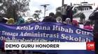 Demo Guru Honener di Hari Guru Nasional