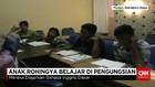Anak Rohingya Belajar di Pengungsian