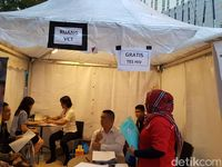 Kali ini kegiatan dilakukan di Central Park Mall, Jl S Parman, Jakarta, pada Sabtu (26/11/2016). Tema Jakarta Sadar 2016 diusung Yayasan AIDS Indonesia dengan salah satu harapan masyarakat sadar untuk tidak melakukan hal-hal yang berisiko tertular HIV-AIDS dan sadar melakukan tes HIV secara berkala.