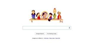 Ada Pak Raden di Google Doodle Hari Ini