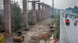 Ada proyek LRT, Cawang-Pancoran Tutup Sabtu Malam-Minggu Pagi