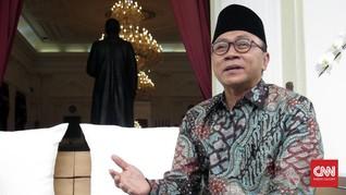 Ketua MPR: Karnaval Cap Go Meh Wujud Indonesia Bangsa Toleran