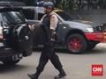 Tim Gegana Ledakkan Bom Temuan di Bekasi
