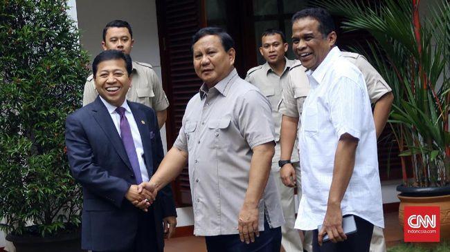 Setya Novanto dan Prabowo Serukan Perdamaian Jelang Aksi #212