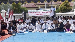 Bubarkan Istigasah, Bupati Cirebon Dituding Mobilisasi Preman