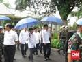 Pidato Singkat Jokowi Minta Warga Pulang