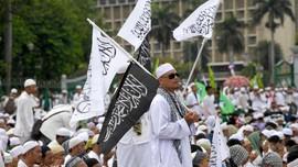 Ulah Banser Bakar Bendera Dijawab Aksi Bela Tauhid di Banten