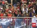 Jokowi 'Nobar' Timnas Indonesia di Bali