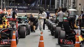 Kabut Asap Tak Hentikan F1 Singapura