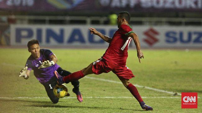 Rizky Pora Tak Pikirkan Gol ke Gawang Thailand