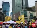 Golkar: Atribut Partai Saat Parade Diambil Saja
