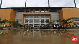 Jalan Menuju Stadion Pakansari Ditutup Saat Final Piala AFF