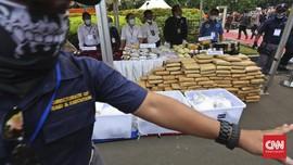 BNN Musnahkan Barang Bukti Kasus Narkoba Januari-Februari