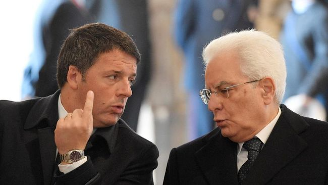 Calon Menteri Ekonomi Ditolak, PM Terpilih Italia Mundur