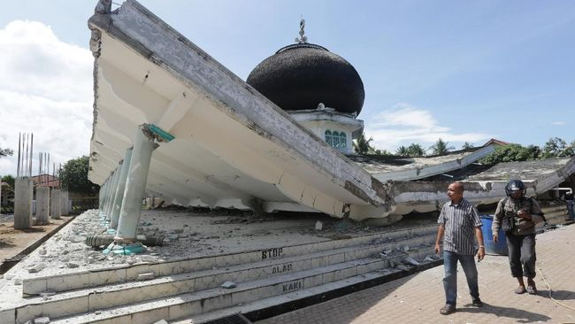 Gempa 4,9 SR Kembali Guncang Aceh
