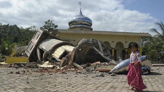 Gempa Aceh Setara Empat Kali Kekuatan Bom Hiroshima
