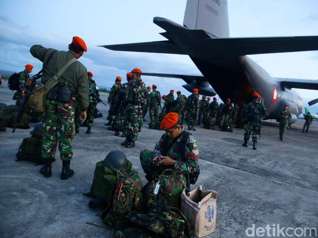 Pasukan tiba di Aceh.