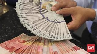 Sore Ini, Rupiah Melemah Tipis ke Rp14.080 per Dolar AS