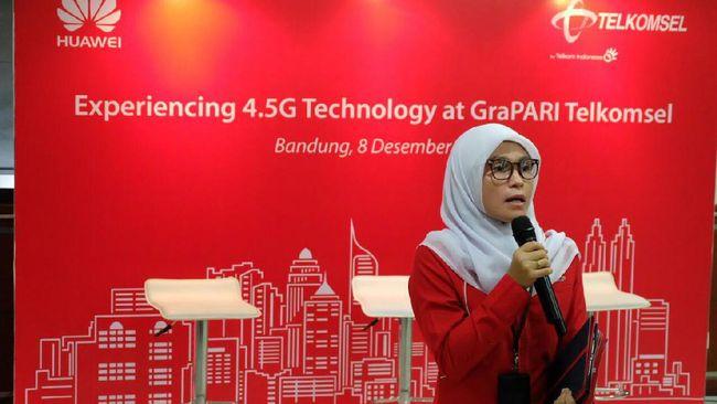 Bandung Mulai Cicipi Jaringan 4.5G dari Telkomsel