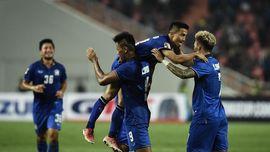 Thailand Efektif, 4 dari 5 Tembakan Tepat Sasaran Jadi Gol