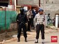 TKP Bom Bekasi Dijaga Ketat Seratus Polisi