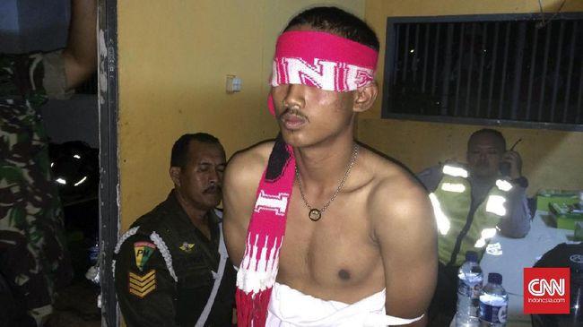 Diduga Provokasi, Penonton Ditangkap di Pakansari