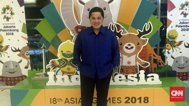 Petisi Erick Thohir Jabat Ketua PSSI Ramai Dukungan