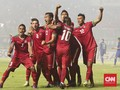 Timnas Indonesia Hanya Unggulan Kedua di Piala AFF 2018