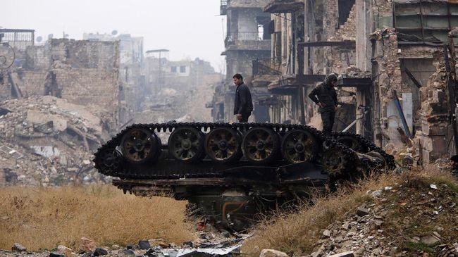 Militer Suriah Rebut Wilayah ISIS di Homs