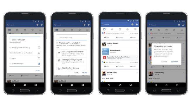 Facebook Akhirnya Rilis Fitur Pencegah Penyebaran Berita Hoax