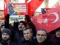 800 Warga Turki Protes Keterlibatan Rusia dan Iran di Aleppo
