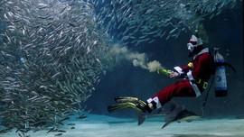 Aksi Seru Sinterklas di Darat, Laut dan Udara