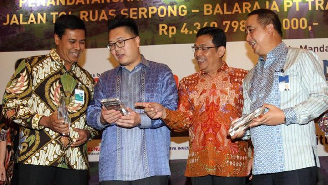 Proyek Tol Serpong-Balaraja Raup Pinjaman Rp4,3 Triliun